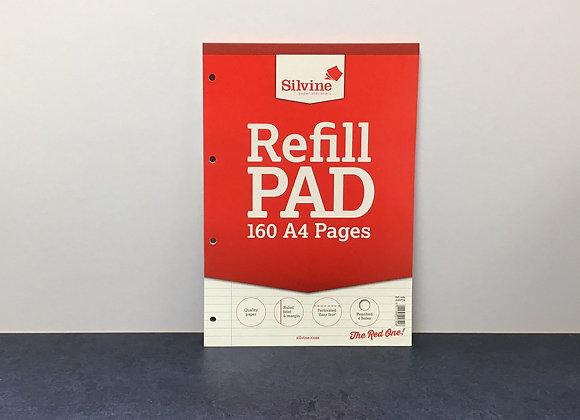 A4 refill pad - Ruled Feint and Margin