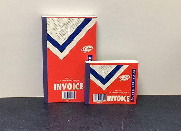 Carbon Invoice Duplicate Books