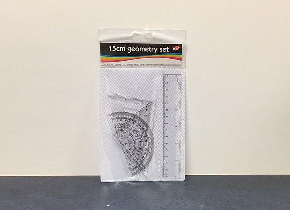 15cm Geometry Set