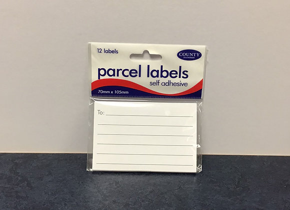 Parcel Labels - Self adhesive