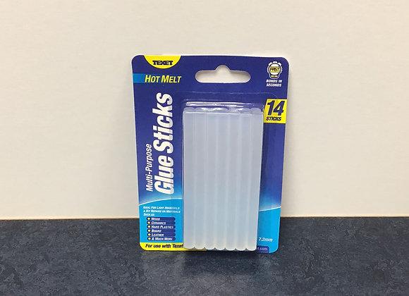 14 Sticks of Hot Melt Glue Sticks