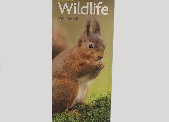 British Wildlife Slim Calendars