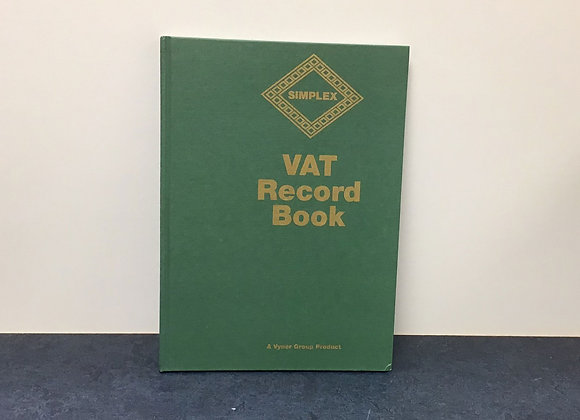Simplex VAT Record Book