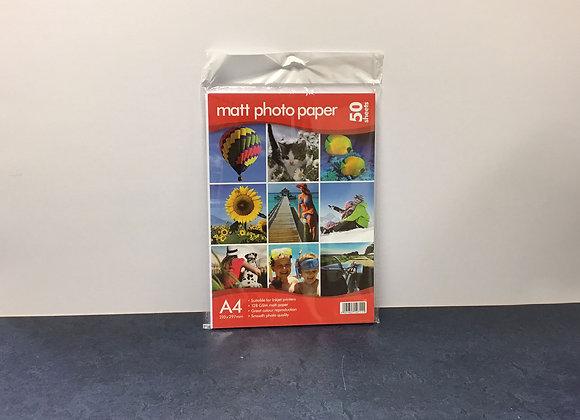 Matt Photo Paper