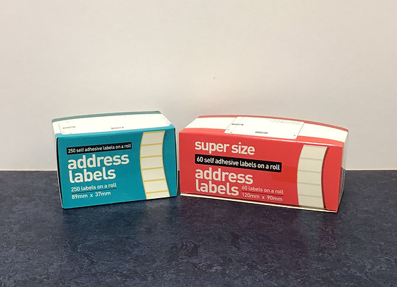 Roll of Address Labels