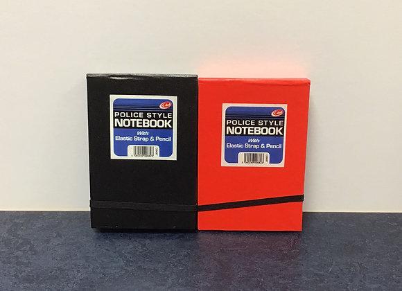 Police Style Notebooks