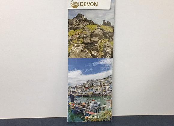 Devon Slim Calendars