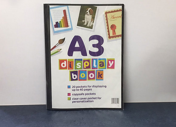 A3 Presentation Display Book