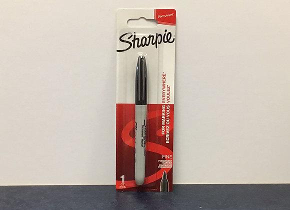 Black Fine Tip Sharpie Marker