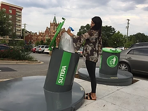 Sutera Launches New Innovative Commercial Waste & Recycling Collection System in Downtown Greenville