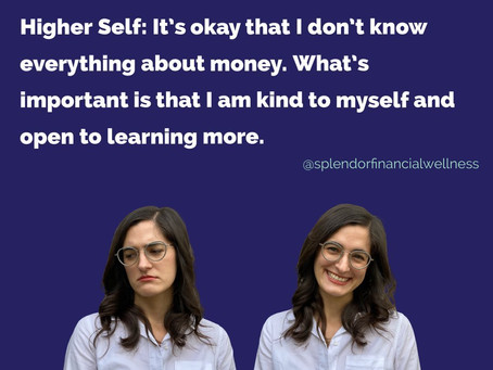 What does your money self-talk sound like?