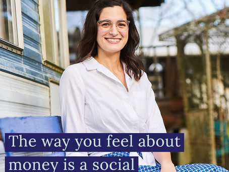 The way you feel about money is a social justice issue.