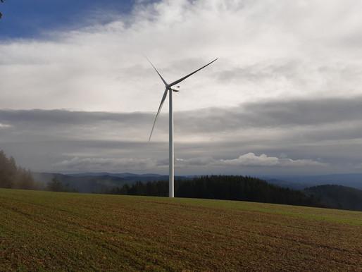 Chantier des éoliennes terminé : fin de la déviation des parcours VTT.