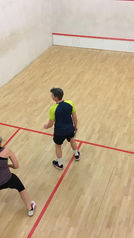 Cheam Squash Club - Return to Full Court Squash / Squash Bubble - Friday 4th September 2020