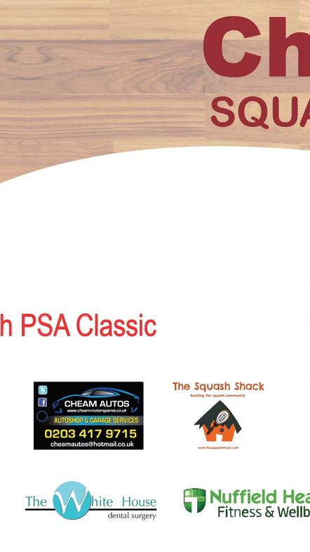 Cheam Squash 2017 PSA Pro Event