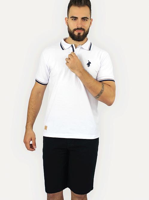 Polo Piquet Branca