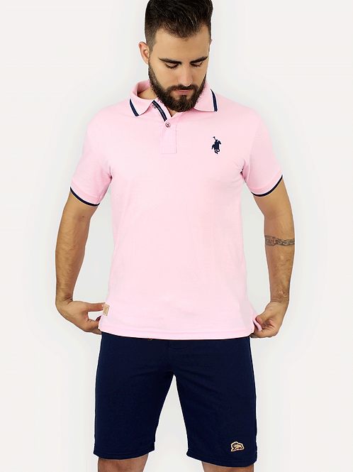 Polo Piquet Rosa