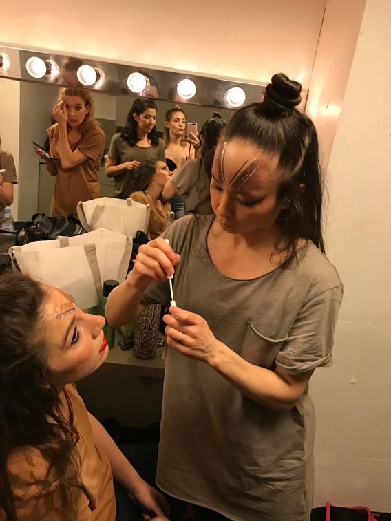 PMT Dance Company Dressing Room
