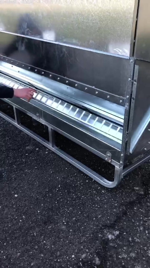 Aussie Feeders lick system with removabl
