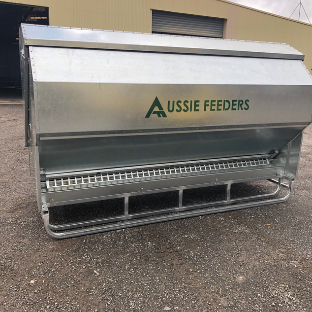 4200ltr (3ton) Sheep,Cattle,Chicken Feeder 3M long