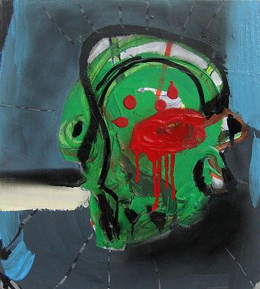 Xavier Noiret Thome, Pollock Jackson, self-portrait, autoportrait