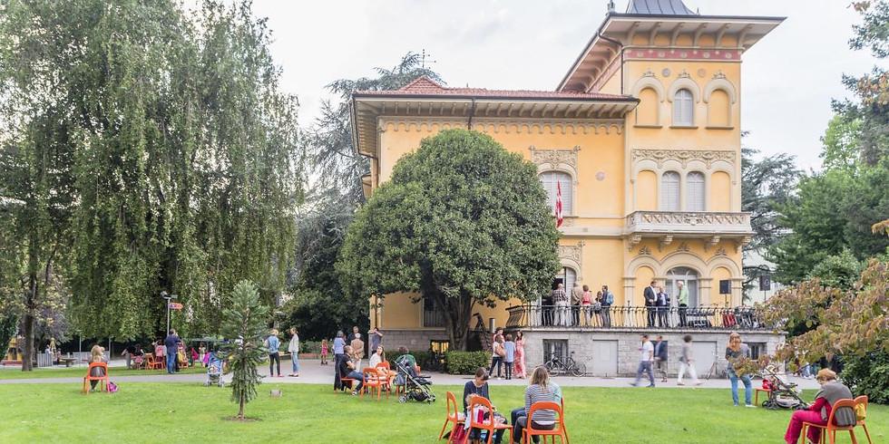 Kundalini al Parco di Villa Saroli, Lugano