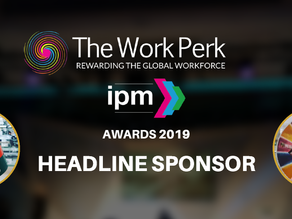 THE WORK PERK BECOMES HEADLINE SPONSOR OF THE 2019 IPM AWARDS