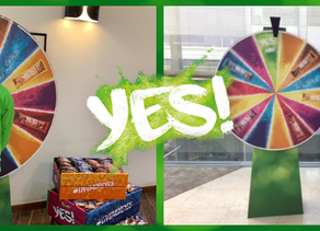 THE WORK PERK YES! SNACKS CAMPAIGN SHORTLISTED FOR THE 2019 IPM AWARDS