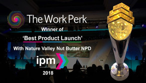 GOLD FOR BEST PRODUCT LAUNCH – IPM AWARDS 2018