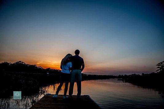 Sunset at Live Oak Cove