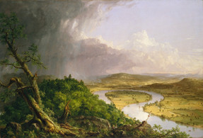 """Thomas Cole """"The Oxbow (The Connecticut River)"""""""