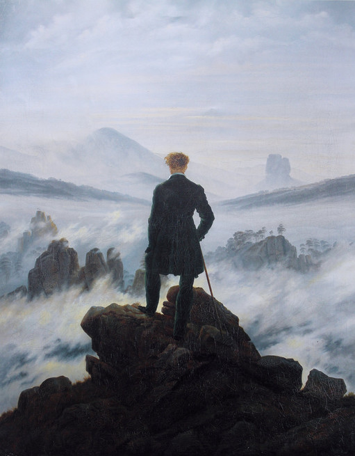 """Caspar David Friedrich """"Wanderer"""""""