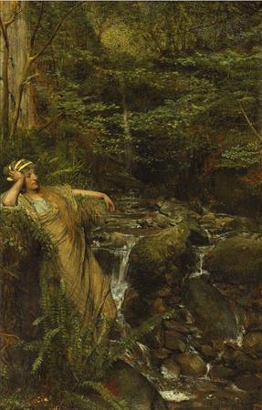 """Alma Tadema """"Water Nymph"""""""