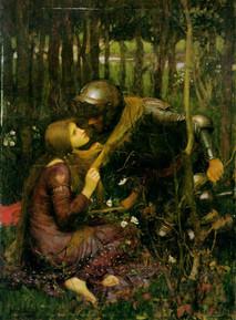 """John William Waterhouse """"The beautiful Lady without Pity"""""""