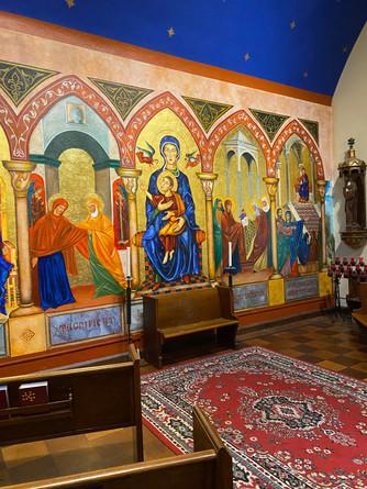 Room Behind Altar St. Gregory's
