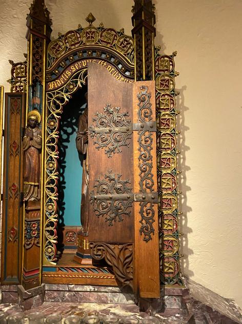 Side Altar back of St. Gregory's