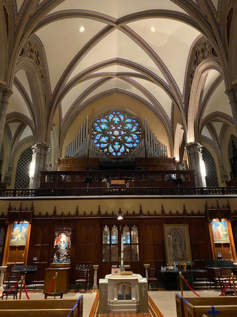 St. Ita's Organ/Choir Loft