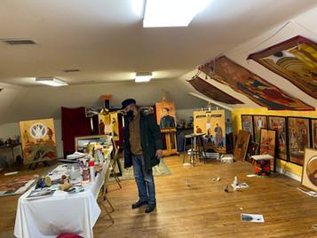 Joe Malham's Studio