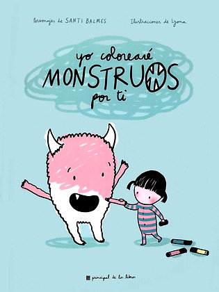 Yo colorearé monstruos por ti (para colorear)