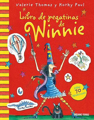 Libro de pegatinas de Winnie