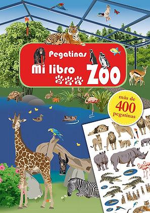 Mi libro del zoo. Pegatinas