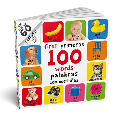First 100 words/Primeras 100 palabras con pestañas
