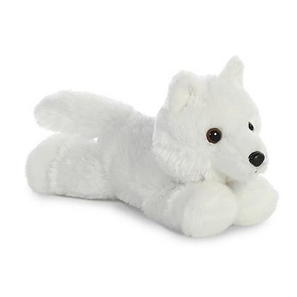 Mini Flopsie Lobo Blanco