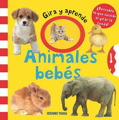 Gira y aprende. Animales bebés