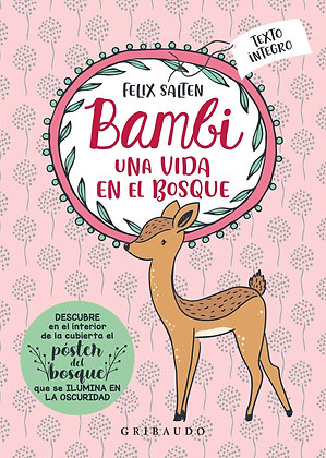 Bambi. Texto íntegro (incluye póster del bosque que se ilumina en la oscuridad)