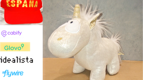 Creative recount of Spanish unicorns: 5 (Cabify, Glovo, Idealista, Flywire, Wallbox)