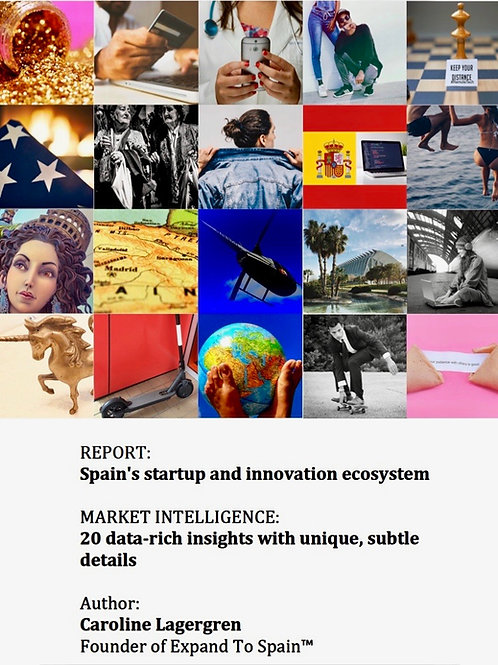 REPORT: Spain's startup and innovation ecosystem, 20 insights