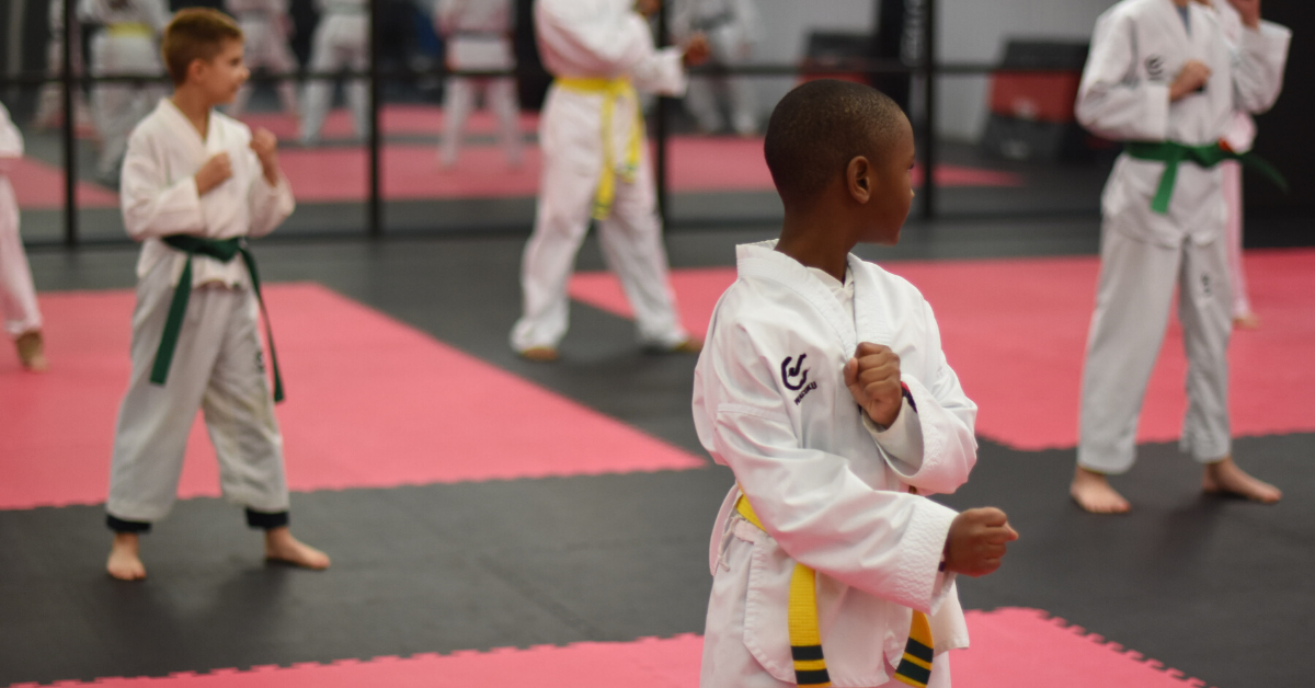 Yellow belt taekwondo