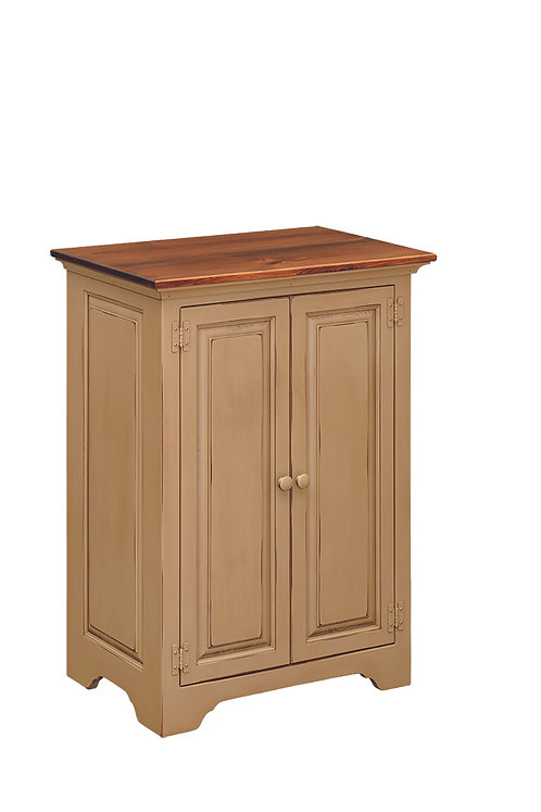 Stereo Cabinet with Solid Doors