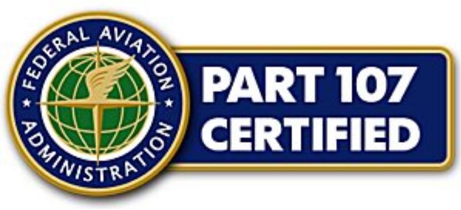 FAA Part 107 Certified logo